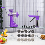 Royal Chef Juicer + 21 Pcs Kitchen Press