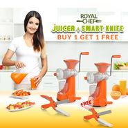 Royal Chef Juicer + Smart Knife - Buy 1 Get 1 Free