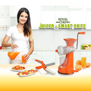 Royal Chef Juicer + Smart Knife