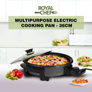 Royal Chef Multipurpose Electric Cooking Pan - 36cm