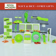Royal Chef Slice & Dice + 8 Free Gifts