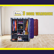 Royal Home 3 Door Wardrobe