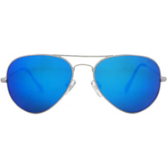 Royal Son Mercury Aviator Sunglasses - Blue