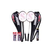 Silver's Pack of 1 Kinetic Badminton Kit - Multicolor