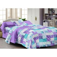 Storyathome 100% Cotton Single Bedsheet with 1 Pillow Cover-SP1216