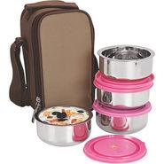 NanoNine Insulated Junior Lunch Box 4 Pcs SS071