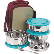 NanoNine Insulated Senior Lunch Box 3 Pcs SS075