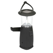 SUI DQ 9214 Solar LED Lantern - Black