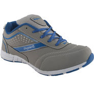 Branded Mesh Sports Shoes Sup4990 -Grey