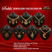 Sakhi Austrian Diamond Jewellery Collection