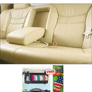 Samsun Car Seat Cover for Chevrolet Beat - Beige
