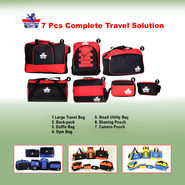 Scottish Club 7 Pcs Complete Travel Solution NT3