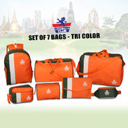 Scottish Club Set of 7 Bags - Tri Color