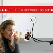 Selfie Light Mobile Holder