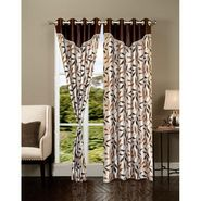 Set of 2 IWS Designer Door Curtain -Multicolor- IWS-CT-97