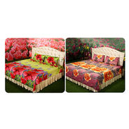 Set of 2 Double Bedsheets + 4 Pillow Covers