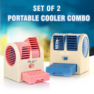 Set of 2 Portable Cooler Combo