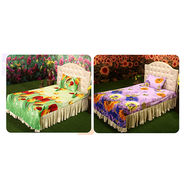 Set of 2 Single Bedsheets + 2 Pillow Covers