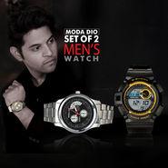 Set of 2 Men's Watch