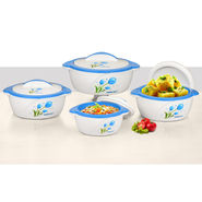 Set of 4 Designer Insulated Casserole
