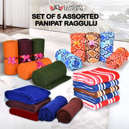 Set of 5 Assorted Panipat Raggulu