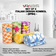 Set of 5 Italian Design Kombol (5FB4)