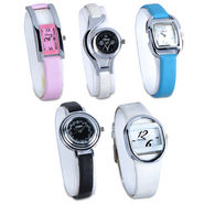 Set of 5 Ladies Watch Combo