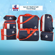 Set of 7 Ruff & Tuff Travel Bags