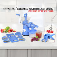 Advanced Juicer & Slicer Combo + Free Multi Cutter with Peeler