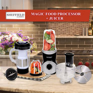 Sheffield Magic Food Processor + Juicer