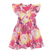 Shoppertree Flower Dress - Multicolor