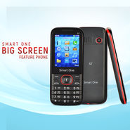 Smart One Big Screen Feature Phone
