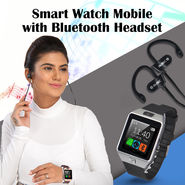 Smart Watch Mobile with Bluetooth Headset