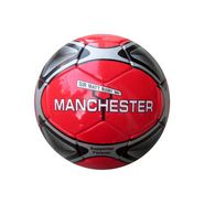Speed Up Manchester Football Size 5 - Red & Black