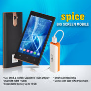Spice Big Screen Mobile