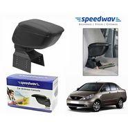 Speedwav Car Armrest Console Black Color- Tata Indigo