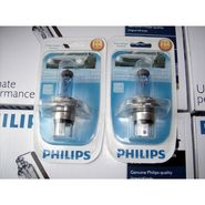 Philips Essential Vision Car Headlight Bulbs H4 100/90W -White