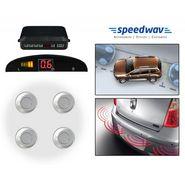 Speedwav Reverse Car Parking Sensor LED Display SILVER - U