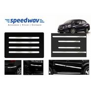 Speedwav Full Chrome Bumper Protector + Side beading -Honda Amaze