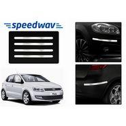 Speedwav Full Chrome Bumper Protector For Volkswagen Polo
