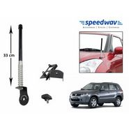 Speedwav Car Front/Rear Stylish VIP Antenna Black-Maruti Grand Vitara