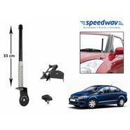 Speedwav Car Front/Rear Stylish VIP Antenna Black-Volkswagen Vento