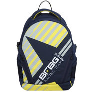 Be for Bag Poly Canvas Backpack Blue -Street Fighter