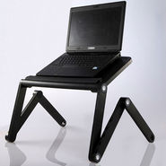 Vox Portable Sturdy Foldable Laptop Table with multi-angle adjustment & Dual Cooling Fan