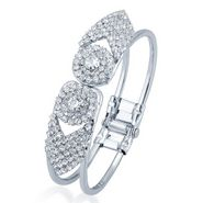 Sukkhi Marvelous Rhodium Plated Kada - White - 12031KADS400