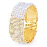 Sukkhi Glamorous Gold Plated Kada - Golden - 12035KADI2000