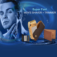 Super Fast Men's Shaver + Trimmer
