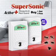 SuperSonic Active+ Mosquito & Pest Guard - Buy 1 Get 1 Free