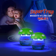 SuperTrap Mosquito Killing Lamp - Pack of 2
