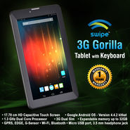 Swipe 3G Gorilla Tablet with Keyboard